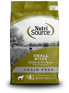 NutriSource Grain Free Small Bites Grain Free Chicken for Small Breed 15-lbs