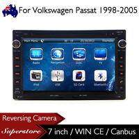 "7"" Car CD DVD Player Nav GPS For Volkswagen Passat 1998-2005"