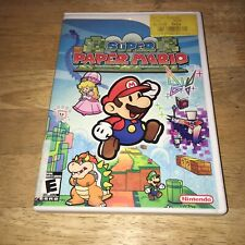 Super Paper Mario (Wii, 2007) - Nintendo RPG - Game + Case - Tested - No Manual