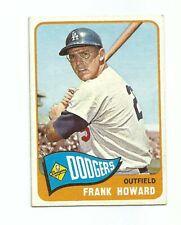 1965 Topps Frank Howard Los Angeles Dodgers Baseball Card #40