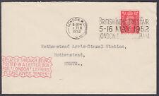 """1952 retrasado por divulgados en una caja cartas para """"Londres"""" Cartas.. cachet"""