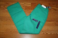 NWT Womens BANDOLINOBLU Samantha Straight Leg Comfort Ease Green Jeans Size 6