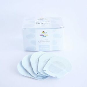 Kids Eye Gear Adhesive Orthoptic Eye Patches for kids Cotton : 50pack