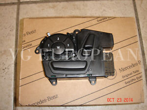 Mercedes-Benz GL R ML Class Genuine Left Front Seat Switch NEW with Memory