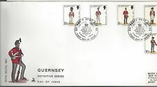 1987 Guernsey FDC Military Issue