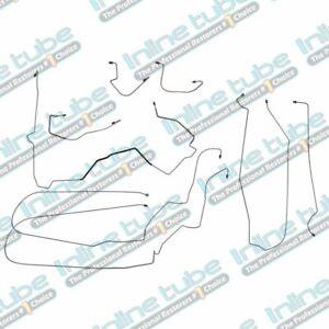 00-05 Chevrolet Monte Carlo Preformed Brake Lines Kit ABS Complete Set Tubes OE