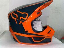 Fox Racing V1 Youth Off Road Motocross Helmet Orange Youth Large