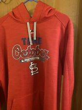 St. Louis Cardinals Majestic Athletic Thermabase Sweatshirt XL