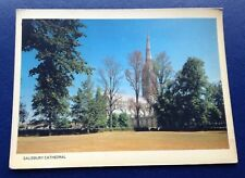 POSTCARD: PLX5615: SALISBURY CATHEDRAL: UN POSTED