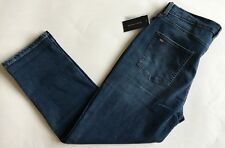 $70 NWT Womens Tommy Hilfiger Stud Logo Goshen Boyfriend Midrise Blue Jeans 10