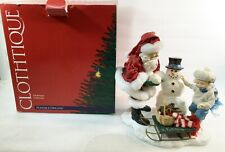 Clothtique Christmas Santa Possible Dreams Snowball Buddies 2001 #713480