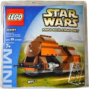 LEGO Star Wars 4491 Blister Pack - MTT Droid Tank  - Naboo (2003) RETIRED *NEW*