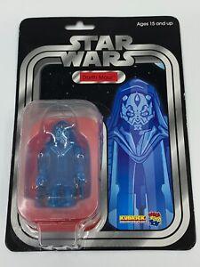 Star Wars Darth Maul Kubrick Unbreakable 2012 Medicom Limited Edition Toy New