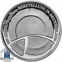 Deutschland 10 Euro Porzellanherstellung 2010 Silber-Gedenk-Münze Spiegelglanz