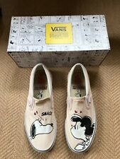 Ladies Peanuts by Schulz Snoopy Vans Trainers in Box