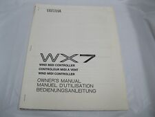 wx7 wind midi controller owners manual yamaha owners manual