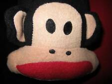 Official PAUL FRANK Black Baby MONKEY Adult FOOTED L Fleece Pajamas Soft