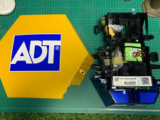 NEW STYLE ADT Dummy Alarm Box with Solar Powered Flashing TWIN LEDS & Batteries