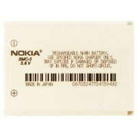 OEM Nokia BMC-3 900 mAh Replacement Battery for Nokia 3300