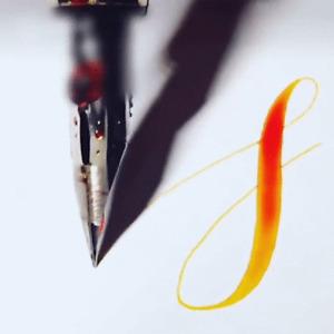 Flexible Nib Fountain Pen with Zebra-G Super-Flex Nib for Manga, or Calligraphy