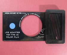 Polaroid J66 Adapter for type 48 Color Film for BLUE DOT Land Cameras Series 40