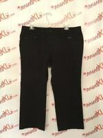 Talbots Woman Size 20W Black Pants