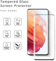 For Samsung Galaxy S21/Plus/Ultra FULL Coverage Tempered Glass Screen Protector