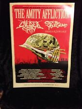 The Amity Affliction-Brothers In Army Tour Poster