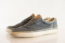 Sperry Blue Cotton Upper A14-61432 Mens Shoe Size US 12M Pre Owned Has some rips