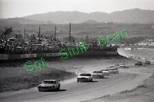 1975 NASCAR racing Photo negative Riverside Int Raceway Allison, Pearson, Petty