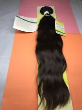 """Outre Simply 100% Non-processed Brazilian_NATURAL WAVE_18""""_#N. BROWN"""
