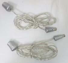 Nintendo Gamecube Intec Controller Extension Cable 5 Foot x2 Cords