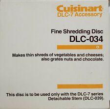Cuisinart DLC-034  Fine Shredding Disc Blade for DLC-7 -  Accessory