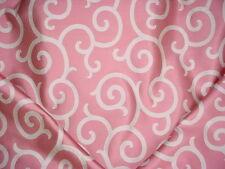 12Y Scalamandre 26691 Serendipity Raspberry Scroll Silk Damask Upholstery Fabric