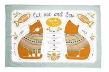 Ulster Weavers Charlie GATTO progetto asciugamani * confezione da 2 * cotone gatto Amanti Regalo