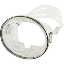 IST M27-C Tortuga Traditional Oval Single Lens Mask in Clear Silicone