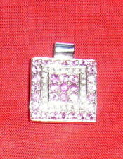 Reinheit VS Gute Echte Diamanten-Halsketten & -Anhänger aus Weißgold mit Brilliantschliff