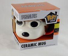 Funko Pop Peanuts Snoopy Flying Ace Ceramic Mug NEW