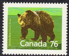 Canada No 1178, Mammal Definitive, Grizzly Bear, Mint Nh