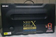 NeogeoX Gold (CIB) in box, all accessories and cables incl custom SD card adaptr