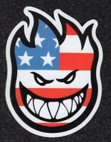 2 Large Spitfire, American Flag, Vinyl Stickers