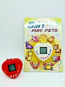 1 Vintage Tamagotchi-alike Mini Giga Pet Toy Virtual 8 in 1 Electronic Collec US
