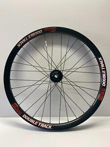 """NEW Sun Rims DOUBLE TRACK Front bicycle Wheel 26"""" DISC 110mm thru axle"""