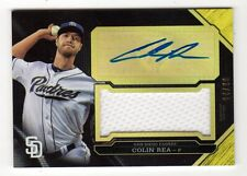 COLIN REA MLB 2016 TOPPS TRIPLE THREADS UNITY JUMBO RELIC AUTO GOLD (PADRES)