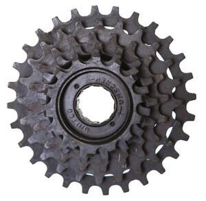 """FireCloud 6 SPEED Bike Bicycle FREEWHEEL COG - threaded hub - 1/2"""" x 3/32"""" Chain"""