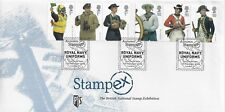 GB 2009 ROYAL NAVY UNIFORMS STAMPEX OFFICIAL WITH UNIFORMS POSTMARK