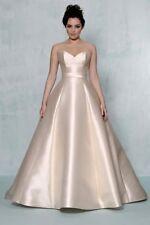 """Augusta Jones """"Anna"""" Bridal Gown in Blush Mikado Size 14"""