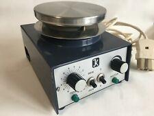 Janke & Kunkel Magnetrührer Typ RCH mit Heizplatte. 80-800 UpM