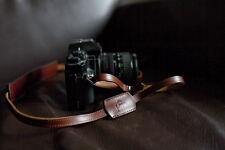 Handmade Genuine real leather camera strap neck strap for EVIL FILM Camera01-057