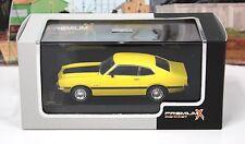 IXO PRD148 1:43 Premium X 1974 Ford Maverick GT Yellow Ltd Ed MIB